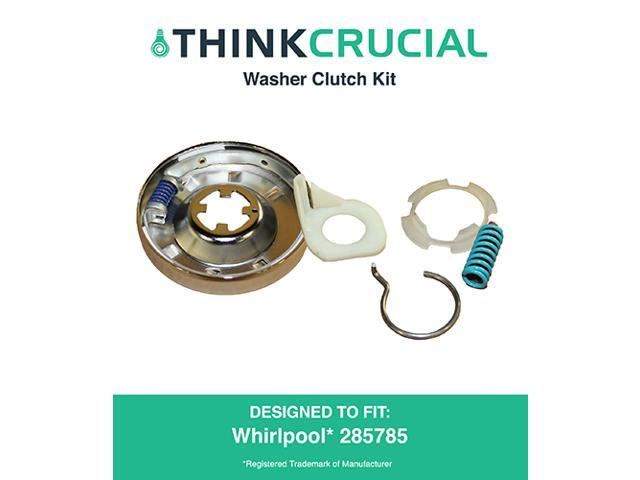 Whirlpool clutch kit for washing machine compare to part 285785 designed engineered by - Whirlpool washer clutch replacement ...