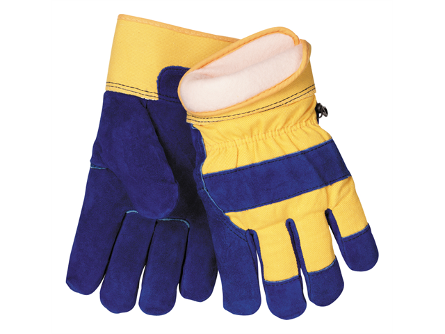 Tillman 1568 Split Cowhide Cold Block Lined Waterproof Winter Gloves, X-Large - X-Large