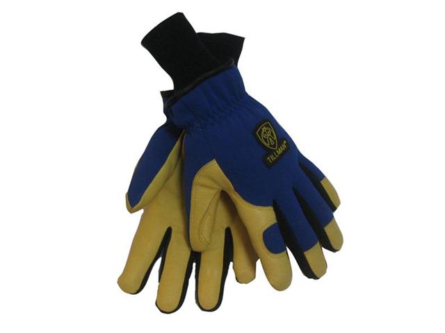 Tillman 1590 Top Grain Pigskin/Spandex Thinsulate Lined Winter Gloves, Medium
