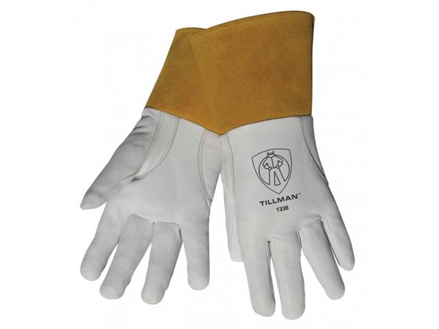 Tillman 1338 Top Grain Goatskin TIG Welding Gloves with 4