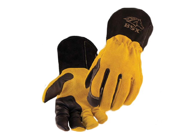 Revco BSX BT88 Xtreme Kidskin/Cowhide TIG Welding Gloves, Medium