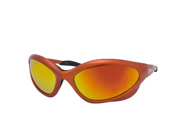 Miller 235659 Orange Frame 5.0 Lens Form Fitting Orbital Safety Glasses