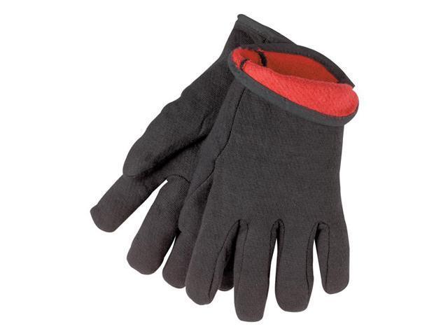 Tillman 1540 9 oz. Cotton/Poly. Fleece Lined Jersey Gloves, Large |Pkg.12