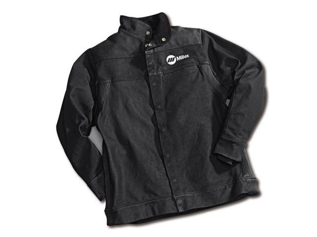 Miller 231088 Leather Welding Jacket, Small