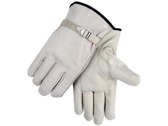 Revco Black Stallion 96 Standard Grain Cowhide Driving Gloves, Pull Strap,Medium