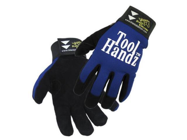 Revco ToolHandz 99-BLUE  Premium Grain Pigskin Mechanic's Gloves, X-Large