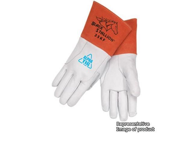 Revco Black Stallion 35KF Alpha TIG Lined Kidskin Welding Gloves, Medium