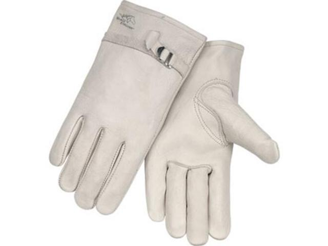 Revco Black Stallion 95 Premium Grain Cowhide Driving Gloves, Pull Strap, Large