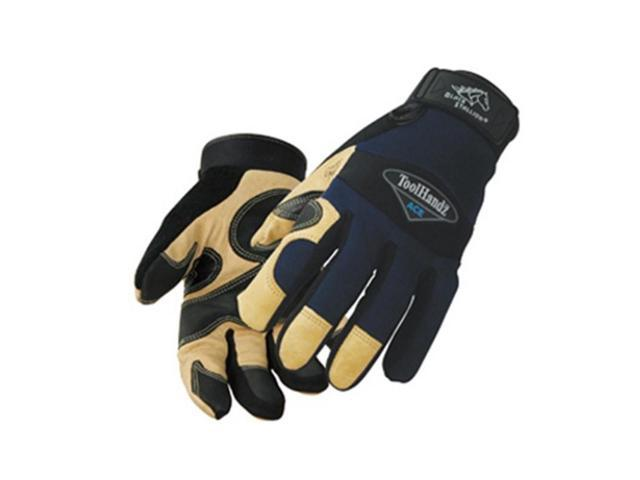 Black Stallion ToolHandz 99ACE-P Pigskin Reinforced Mechanic's Gloves, Small