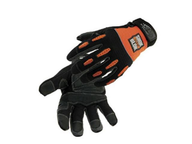 Revco ToolHandz 98SB  ShokBlok Anti-Vibration Mechanic's Gloves, Large