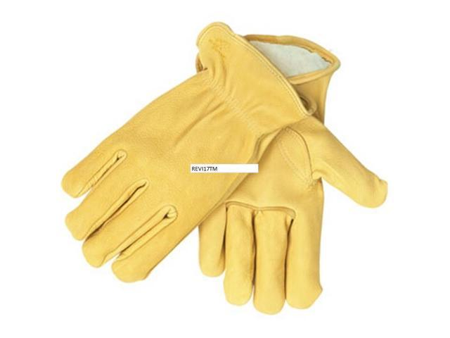 Revco Black Stallion I17T Prem. Deerskin Thinsulate Driver's Gloves, Medium