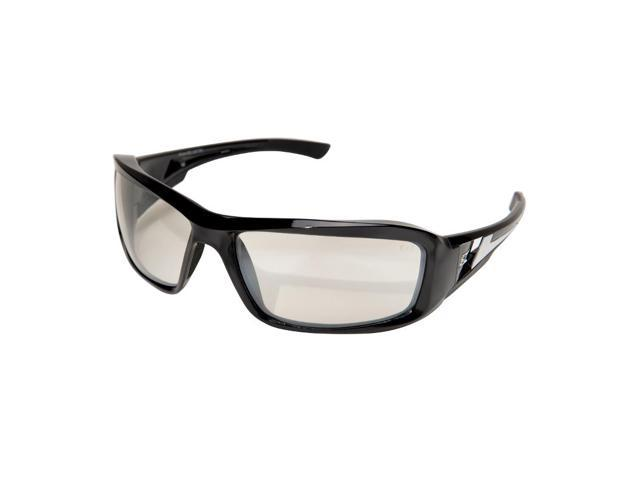 Edge Eyewear XB111AR  Brazeau Safety Glasses, Black/Clear Anti-Reflective