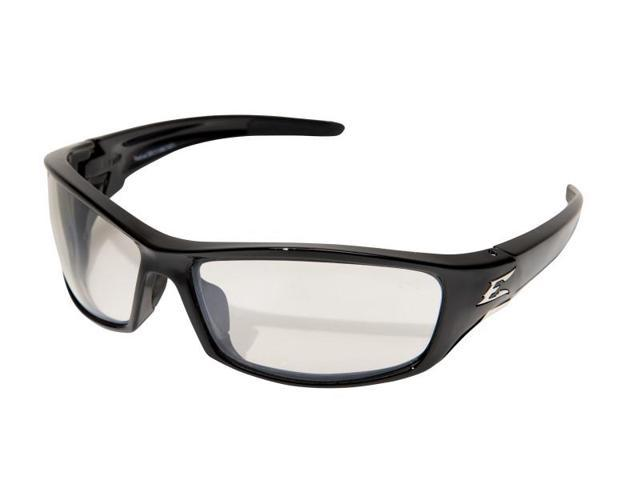 Edge Eyewear SR111AR  Reclus, Safety Glasses, Black/Clear Anti-Reflective Lens