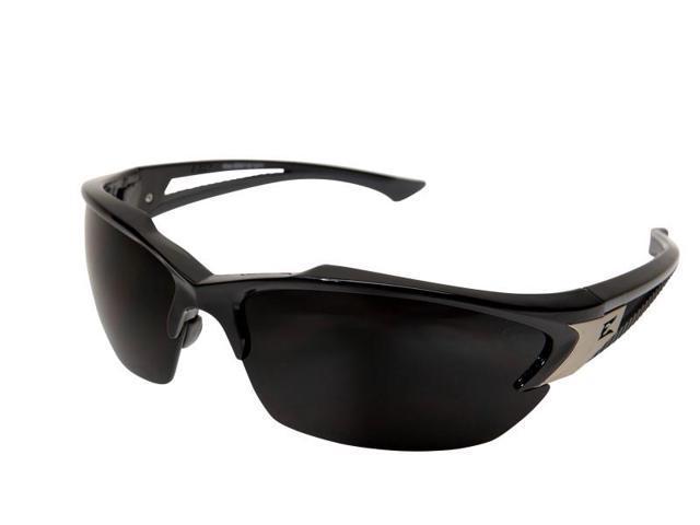 Edge Eyewear TSDK216 Khor Polarized - Black / Smoke Lens