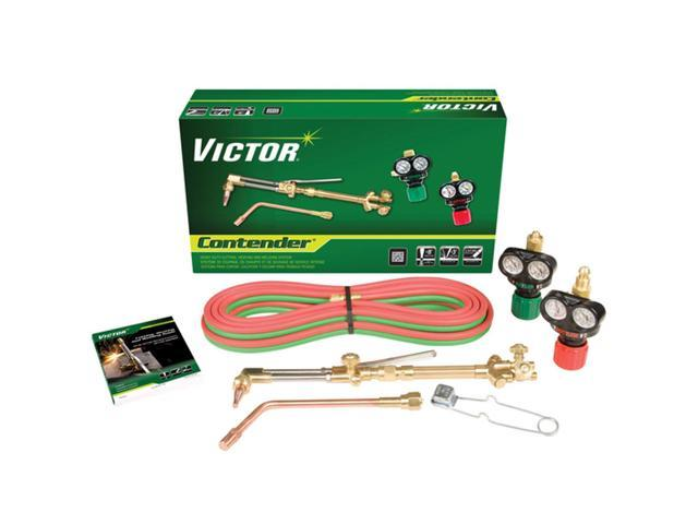 Victor 0384-2050 Contender Cutting  Welding Torch With Edge Regulators