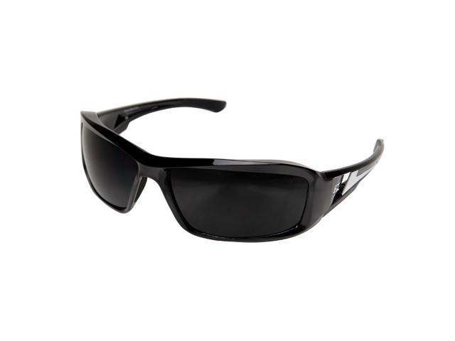 Edge Eyewear XB116  Brazeau Safety/SunGlasses, Black/Smoke Lens