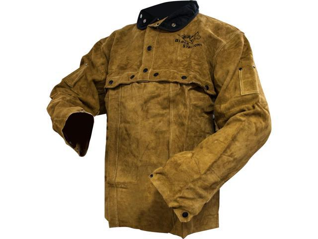 Black Stallion 220CS Cowhide Welding Cape Sleeve w/20