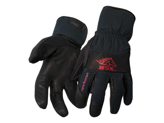 Black Stallion BSX BT50 Premium Grain Kidskin TIG Welding Gloves, Medium