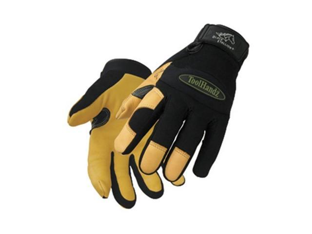 Black Stallion ToolHandz 99DEER Premium Grain Deerskin Mechanic's Gloves, Medium