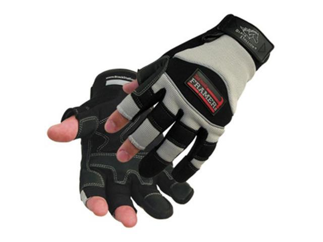 Revco ToolHandz 98F Synthetic Leather Exposed 3-finger Gloves, X-Large