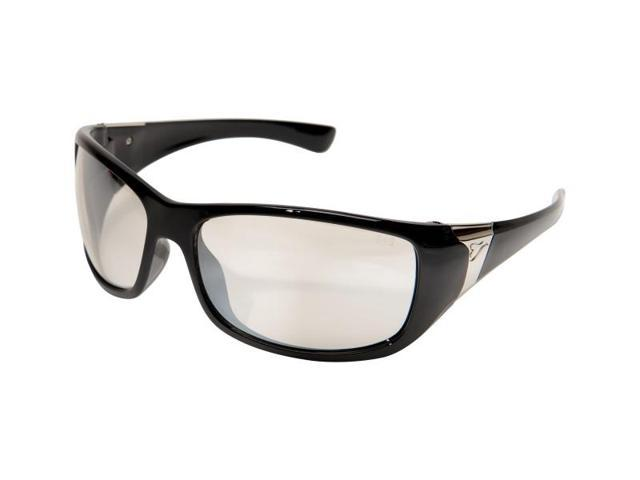 Edge Eyewear YC111AR Civetta Ladies Glasses, Black/Clear Anti-Reflective Lens