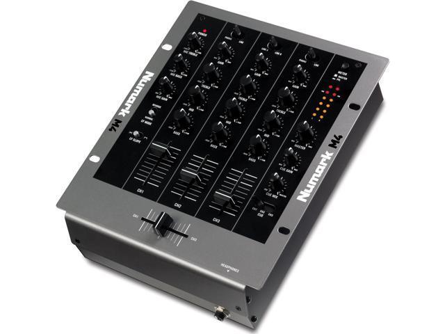 Numark M4 3 Channel 10 Inch DJ Mixer 3 Channel DJ Mixer