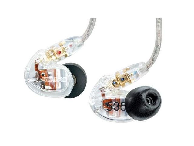 Shure SE535 Sound Isolating Earphones in Clear