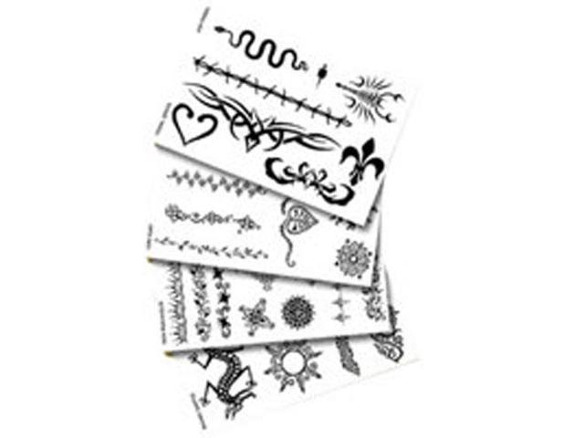 Stencil Pack, Assorted 1 unit by Earth Henna