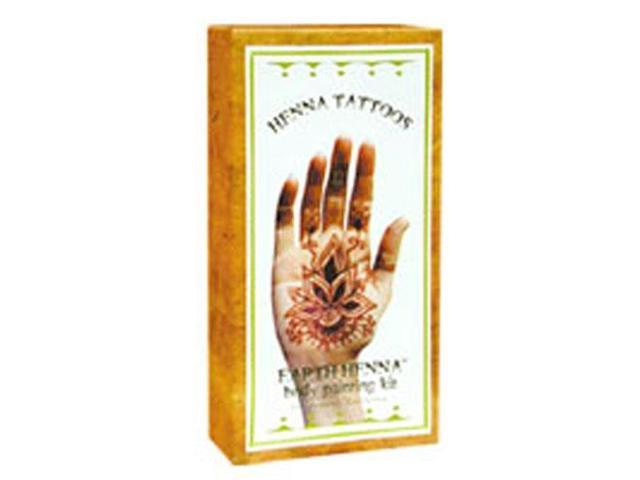 Earth Henna Body Painting Kit, Original 1 kit by Earth Henna