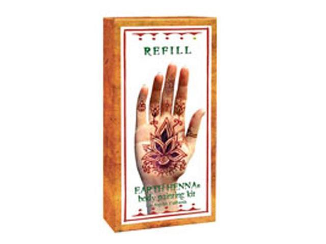 Refill Kit Powder & Solution Only, 1 kit by Earth Henna