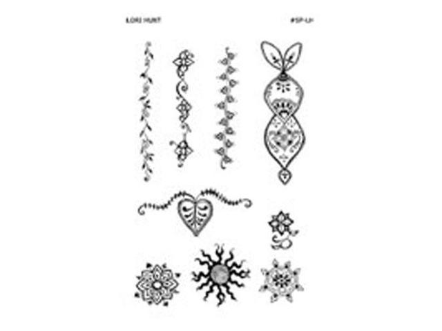 Stencil Pack, Lori Hunt 1 unit by Earth Henna