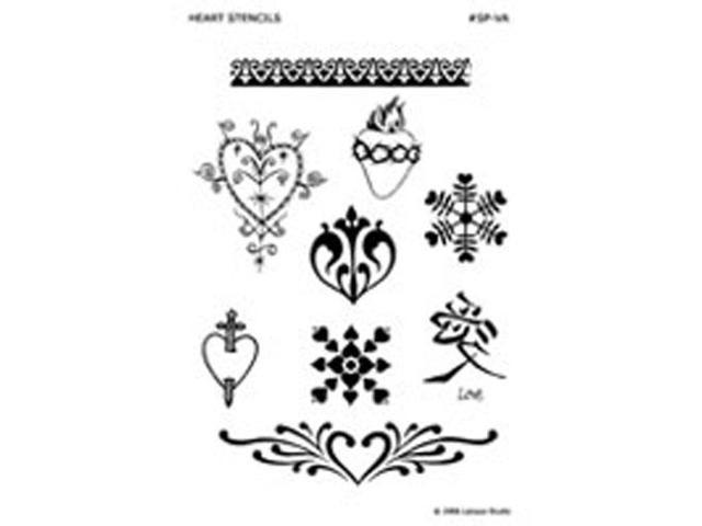 Stencil Pack, Hearts & Valentines 1 unit by Earth Henna