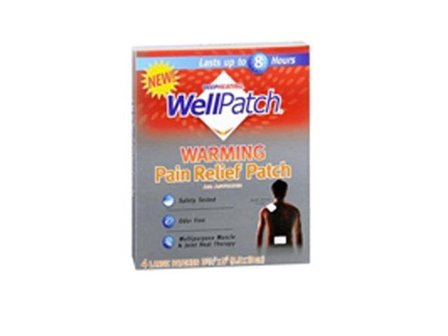 Wellpatch Warming Pain Relief Patch 3 Pack X 4