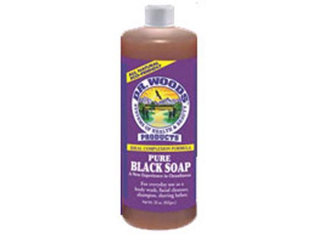 Original Castile Soap Pure Black - Dr. Woods - 32 oz - Liquid