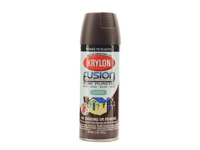 krylon fusion spray paint for plastic espresso satin. Black Bedroom Furniture Sets. Home Design Ideas
