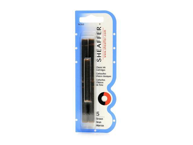 Sheaffer Calligraphy Ink Cartridges Brown