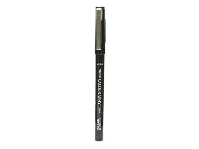 Marvy Uchida 6000 Calligraphy Pens Black 2 0 Mm Fine