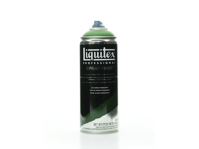 Liquitex Professional Spray Paint 400 Ml 12 Oz Sap Green Permanent