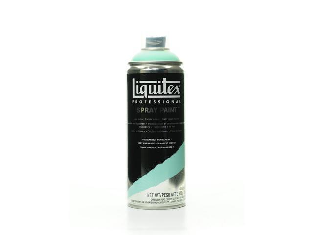 Liquitex Professional Spray Paint 400 Ml 12 Oz Viridian Hue Permanent 7