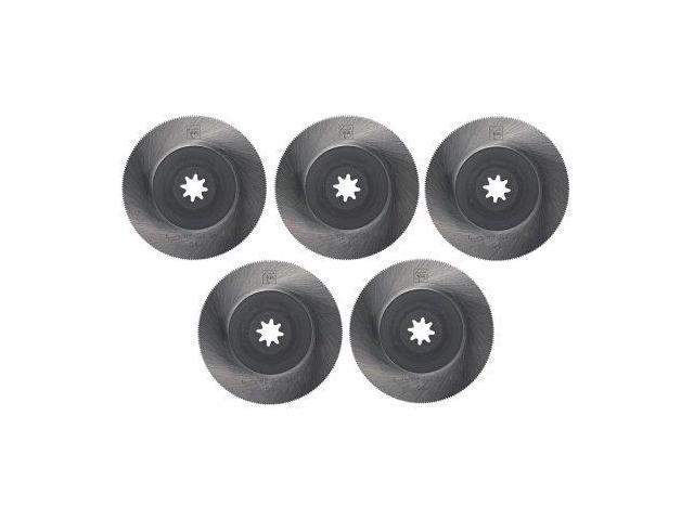 Fein 6-35-02-144-02-0 Metal Flush Cut Blade, 5-Pack