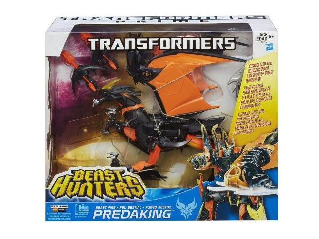 Transformers Prime Beast Hunter Fire Predaking Figure