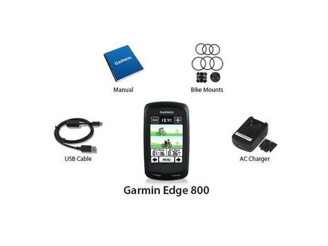 "Garmin Edge 800 2.6"" Touchscreen Personal Trainer GPS Enabled Cycle Computer w/ ANT™ Wireless Technology"