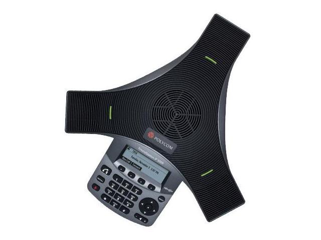 Polycom SoundStation IP 5000 Corded VoIP Conference Phone w/ Acoustic Clarity Technology