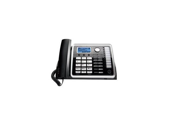 RCA 25260 Corded Phone (2 Line) DECT 6.0 1.9GHz 2-Line Operation Expandable Up To 10 Handsets Wall Mountable  + Speakerphone