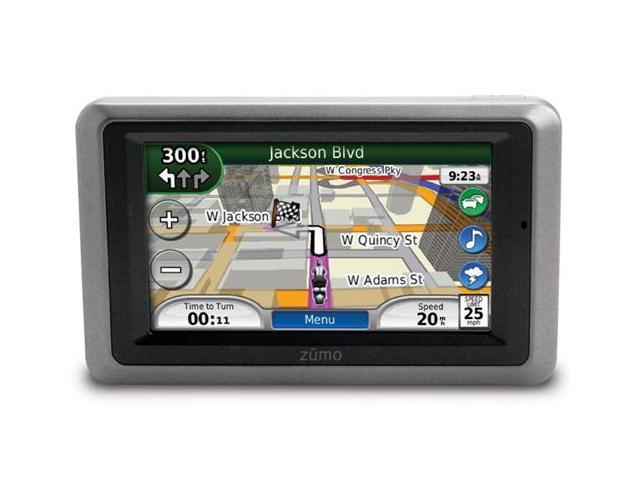 "REFURBISHED: Garmin Zumo 665 4.3"" Motorcycle GPS Vehicle Navigation System W/ Pre-Loaded w/ City Navigator North America NT Maps"