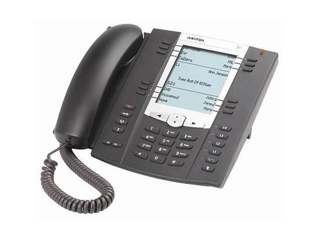 Aastra 6757i / 57i Corded VoIP Telephone (A1757-0131-10-01) w/ Built-In HTTP Server