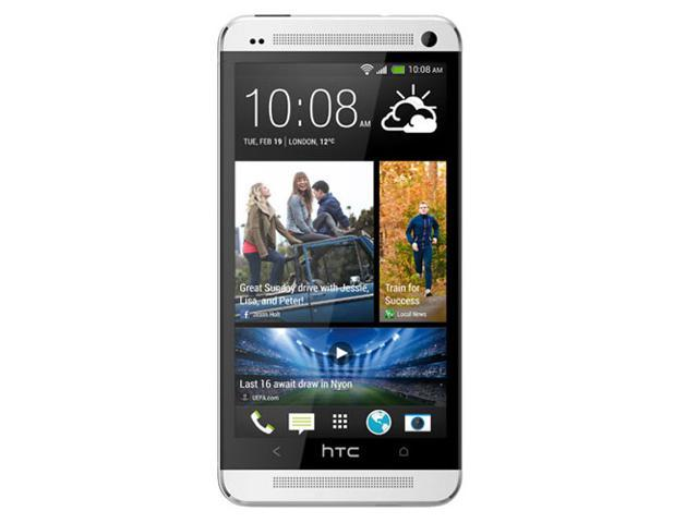 "HTC One M7 32GB / 801s Silver 4.7"" Touch Screen 4.0 Ultrapixel Camera Unlocked GSM Mobile Phone"