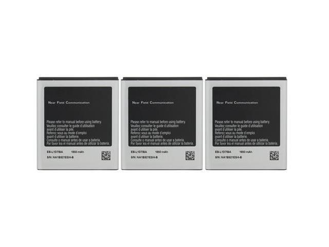 Replacement Battery For Samsung i727 (3-Pack)