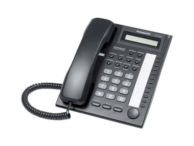 Panasonic KX-T7730BX Hybrid System Corded Telephone W/ 1-LineBacklit LCD Display And 12 Programmable Line Buttons