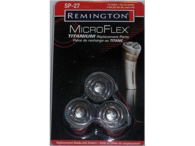 Remington SP-27 Replacement Shaver Heads Microflex Titanium